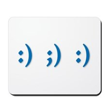 Emoticon Mousepad