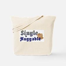 SINGLE & HUGGABLE Tote Bag