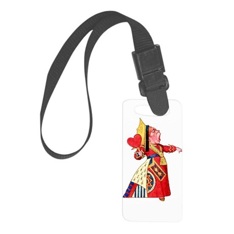 QUEEN OF HEARTS Small Luggage Tag