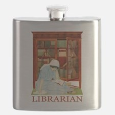 LIBRARIAN by Coles Phillips Flask
