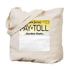 NJ Pay Toll Tote Bag