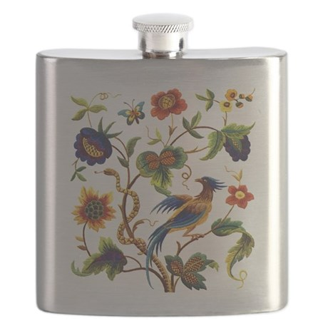 Warwick Embroidery Flask