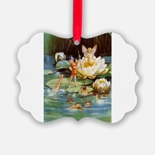 FAIRIES_Water Lily_SQ.png Ornament