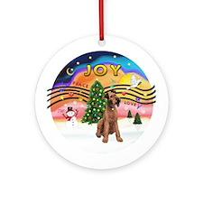 XMusic2-Lakeland Terrier Ornament (Round)