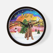 XMusic2-Lakeland Terrier Wall Clock