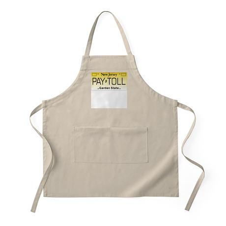 NJ Pay Toll BBQ Apron