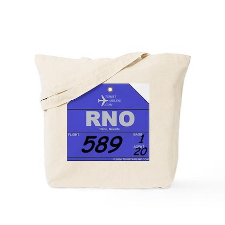 RNO - Reno, NV airport code Tote Bag