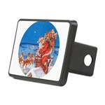 Santa Claus 60_RD.png Rectangular Hitch Cover
