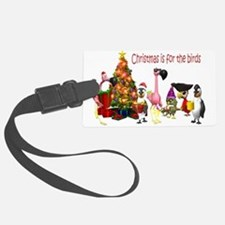 Christmas is for the birds 33364632 copy.png Luggage Tag