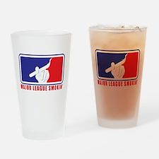 Major League Smokin' Drinking Glass