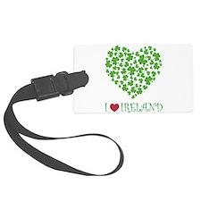 SHAMROCKS_i love ireland copy.png Luggage Tag