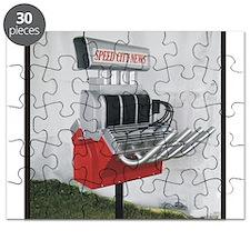 Hot Rod mailbox Puzzle
