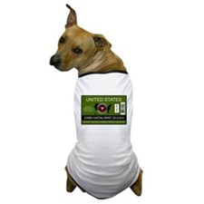 zombie hunting permit Dog T-Shirt