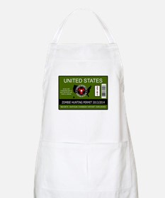 zombie hunting permit Apron