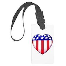 MY AMERICAN HEART Luggage Tag