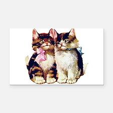 Kittens001.png Rectangle Car Magnet