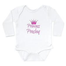 Cute Presley Long Sleeve Infant Bodysuit