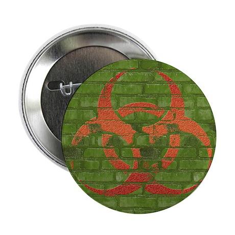 """Biohazard design.jpg 2.25"""" Button (10 pack)"""