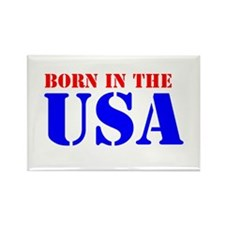 BORN IN THE U.S.A. III™ Rectangle Magnet