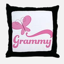 Grammy Grandma Breast Cancer Throw Pillow