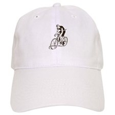 Retro Cyclist Baseball Cap