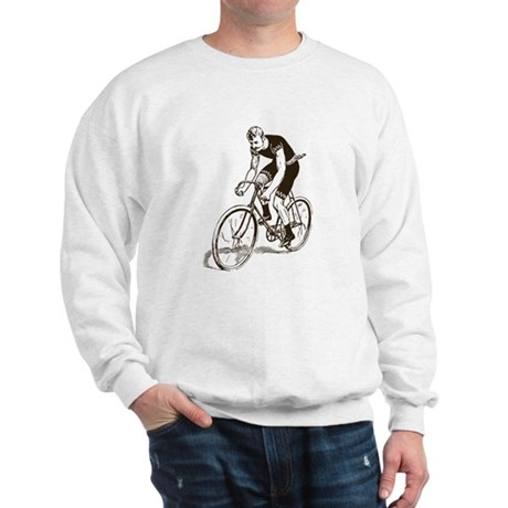 Retro Cyclist Sweatshirt