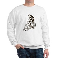 Retro Cyclist Sweatshirt