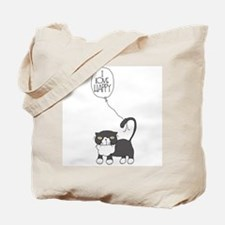 I Love Happy Tote Bag