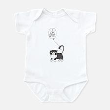 I Love Happy Infant Body Suit