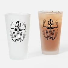 Desert Frog (4) Drinking Glass
