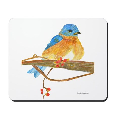Young Bluebird Mousepad