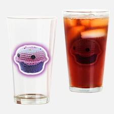 Yarn Cupcake Drinking Glass