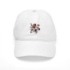 Wallace Tartan Lion Baseball Cap