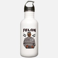 OBAMA CONVICT Water Bottle