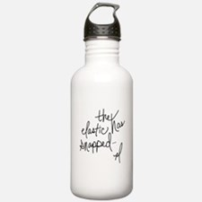 Cycling Quotes - The Elastic Has Snapped Water Bottle