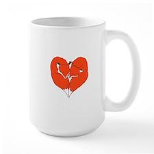 Foxes Mate for Life Mug
