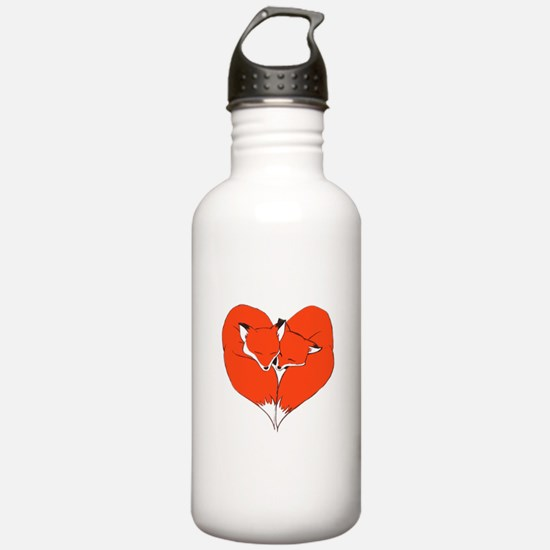Foxes Mate for Life Water Bottle