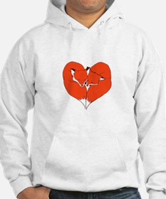 Foxes Mate for Life Hoodie