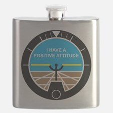 I Have a Positive Attitude Flask