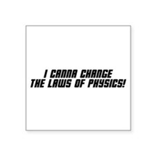 "physics_bk.png Square Sticker 3"" x 3"""