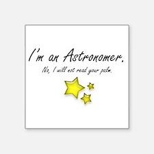 "astrostar.png Square Sticker 3"" x 3"""