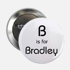 B Is For Bradley Button