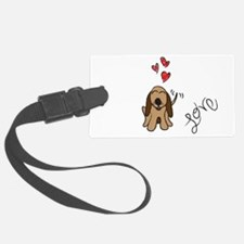houndlove.png Luggage Tag