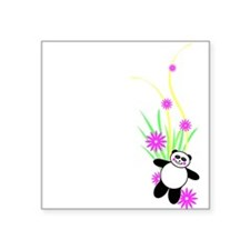 "pandalong.png Square Sticker 3"" x 3"""