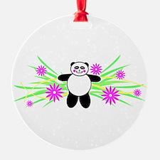 Pretty Panda Ornament