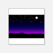 """desertskyline.jpg Square Sticker 3"""" x 3"""""""