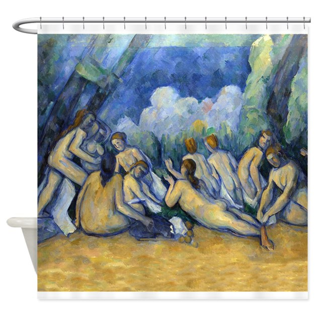 Cezanne bathers shower curtain by designdivagifts2 for Design your own bathers