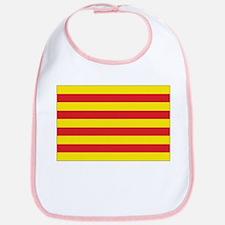 Catalonia Flag Bib