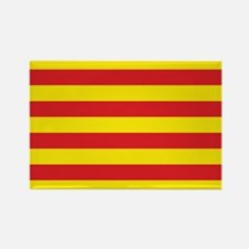 Catalonia Flag Rectangle Magnet