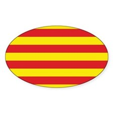 Catalonia Flag Decal